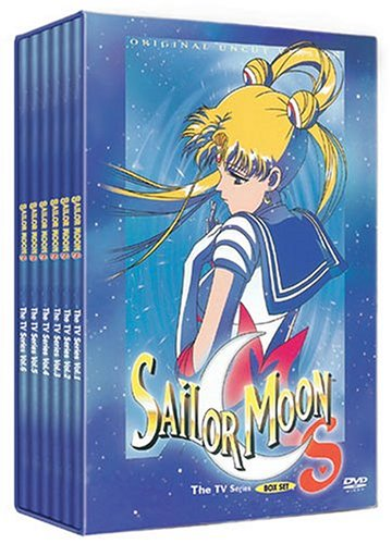 Sailor Moon S - The Complete Uncut TV Set (Sailor Moon Tv Series Dvd)