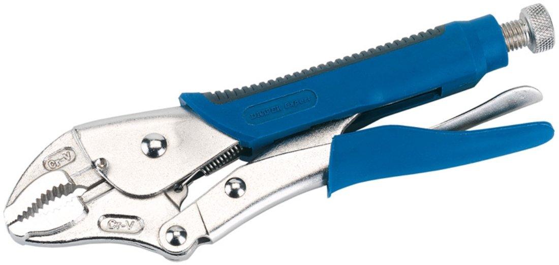 Draper 89126 Pince /étau /à long bec avec manche Soft Grip 165 mm