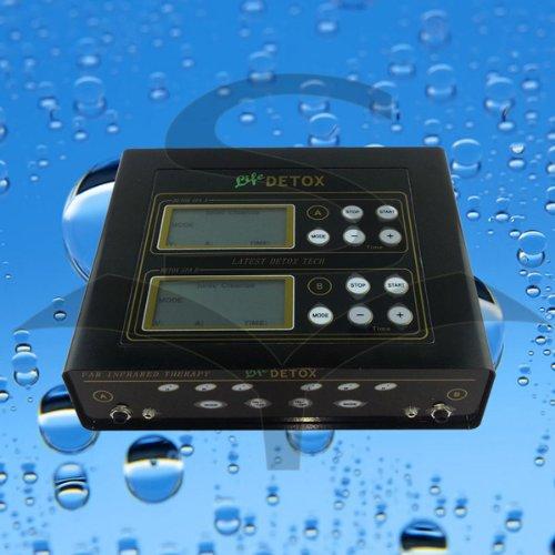 EHM Dual Ionic Foot Detox Spa Bath LCD Machine & Fir Belts 5 Modes Ion Cleanse