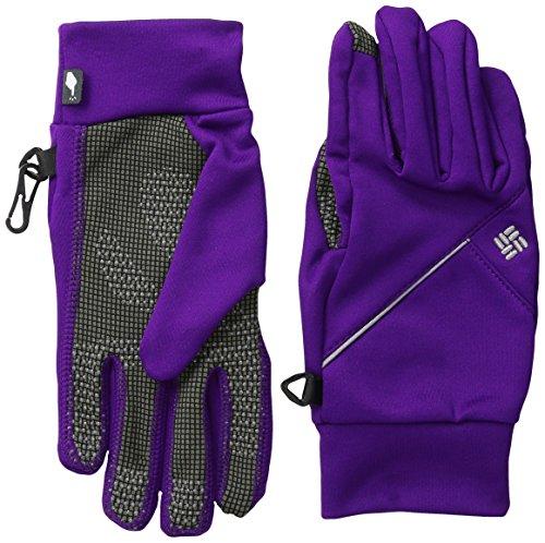 Columbia Women's Trail Summit Running Glove, Hyper Purple, (Columbia Running Hat)