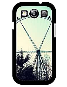 7383211M637212537 Gorgeous Photo Ferris Wheel Theme Mobilephone Accessories Style 001, Hard Plastic Case Cover for Samsung Galaxy S3 I9300 Customized LO.O Case
