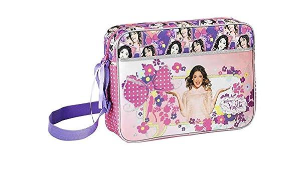 Bolso Bandolera Disney Violetta XL para niños – 38: Amazon.es: Equipaje