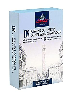 Conte Compressed Charcoal assorted
