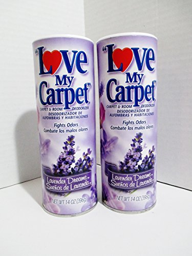Love My Carpet - 2 pack - Lavender Dreams Carpet & Room Deodorizer by Love My Carpet
