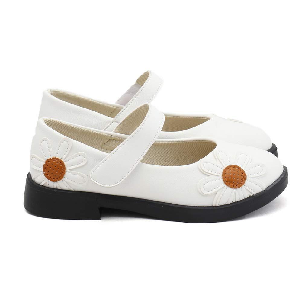 d25262fd1 La Vogue Zapatos De Vestir Niñas Flores Calzado PU para Fiesta Danza  Princesa Boda  Amazon.es  Zapatos y complementos