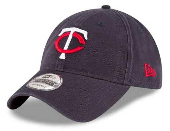 new styles 46cb5 23a02 New Era MLB Minnesota Twins Core Classic 9Twenty Baseball Hat Cap 11417793  Navy