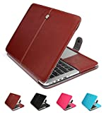 GranVela MacBook Notebook Premium Quality PU Leather Sleeve bag, Skin Case Cover for Apple 15