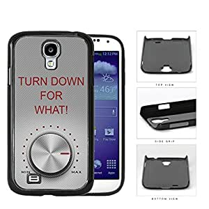 linJUN FENGTurn Down For What (Red) with Max Volume Samsung Galaxy S4 I9500 Hard Snap on Plastic Cell Phone Cover