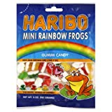 Cheap Haribo Mini Rainbow Frogs, 5-ounces (Pack of12)