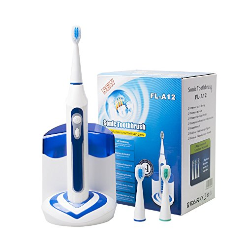 CUH Sonic Electric Toothbrush with UV Sanitizer...