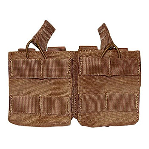 Condor Outdoor Double M14 Open Top Mag Pouch - Brown