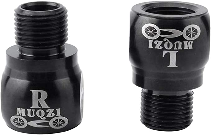 """21mm BICYCLE PEDAL ADAPTER FITS  1//2/""""CRANKS AND MAKES 9//16/"""" FOR PEDALS"""