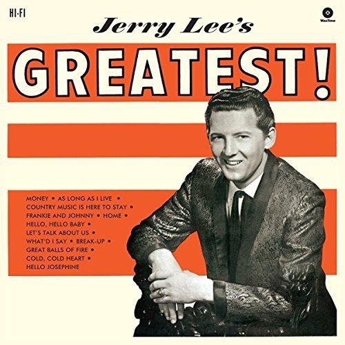 Vinilo : Jerry Lee Lewis - Jerry Lee's Greatest (Spain - Import)