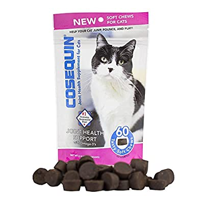 Cat Health Products NUTRAMAX 60 Count Cosequin Soft Chews for Cats [tag]