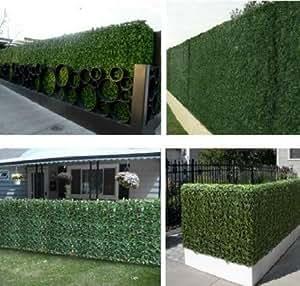 Amazon.com: e-joy 24 Piece Artificial Topiary Hedge Plant
