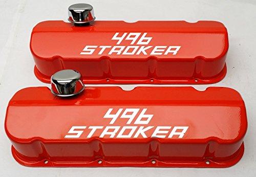 Big Block Chevy Racing Laser Engraved 496 Stroker Logo