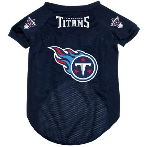 Tennessee Titans Pet Dog Football Jersey Alternate XL NFL