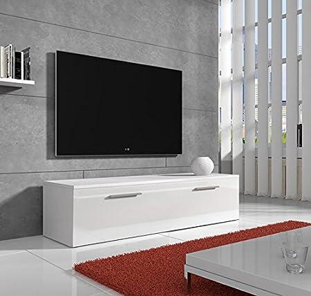 muebles bonitos –Mueble TV Modelo Arona en Color Blanco 1m: Amazon.es: Juguetes y juegos