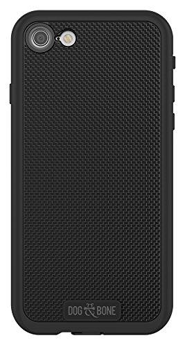 Dog & Bone Wetsuit Impact - Rugged, Waterproof iPhone 7 Case - Blackest Black