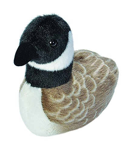 (Wild Republic Audubon Birds Canada Goose Plush with Authentic Bird Sound, Stuffed Animal, Bird Toys for Kids and Birders )