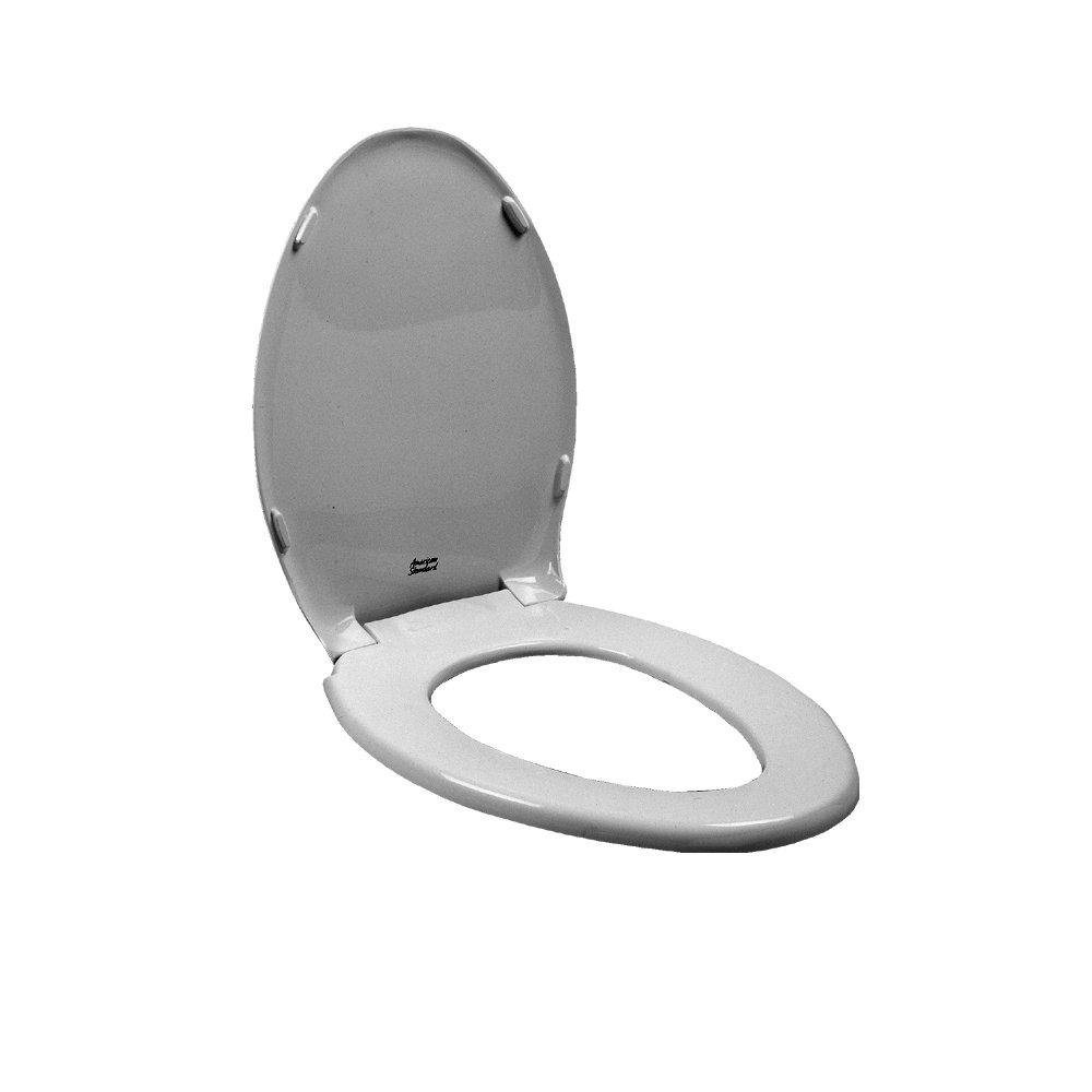 American Standard 5280.016.165 Champion Elongated Toilet Seat, Silver
