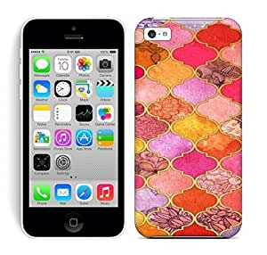 Lmf DIY phone caseBest Power(Tm) HD Colorful Painted Watercolor Tangerine & Taupe Decorative Moroccan Tile Pattern Art Hard Phone Case For iphone 6 4.7 inchLmf DIY phone case