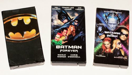 Batman Video Collection (3pk): Batman, Batman Forever and Batman & Robin -
