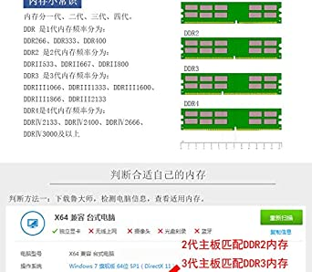 RONSHIN JOINLJIN 2400 DDR3 DDR4 Desktop Memory 260PIN for Computer Laptop Notebook DDR3 16GB 1600