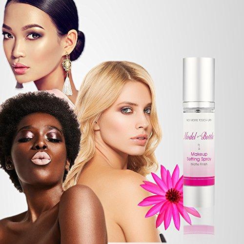Model in a Bottle Original Makeup Setting Spray, Matte Finish, 1.7 oz by Model in a Bottle (Image #2)