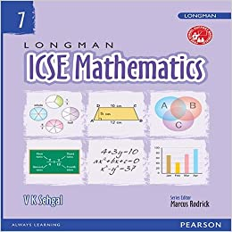 Amazon in: Buy Longman Maths by Pearson for ICSE Class 7 Book Online
