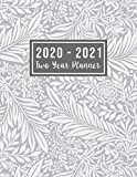 "2020-2021 Two Year Planner: 2-year appointment calendar planner | 24-Month Planner & Calendar. Size: 8.5"" x 11"" ( Jan 2020 - Dec 2021). Two Year ... for mom (2 year monthly planner 2020-2021)"