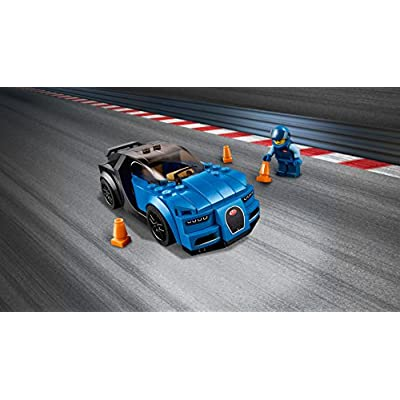 LEGO Speed Champions 6175244 Bugatti Chiron 75878, Multi: Toys & Games