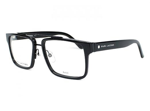 e88de9d29b1 Image Unavailable. Image not available for. Color  Marc Jacobs Marc 58 02QP  Black Eyeglasses