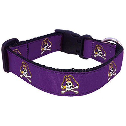 NCAA East Carolina Pirates Dog Collar, Large