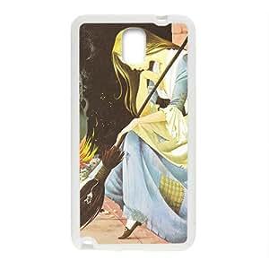 Happy Cinderella Case Cover For samsung galaxy Note3 Case