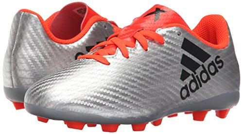 Pictures of adidas Performance Kids' X 16.4 Firm S75699 Silver Metallic/Black/Infrared 4