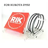 Riken Piston Ring STD 75mm for KUBOTA D950