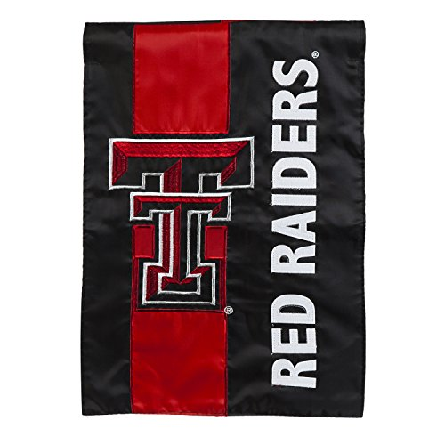 Team Sports America Texas Tech Outdoor Safe Double-Sided Emb