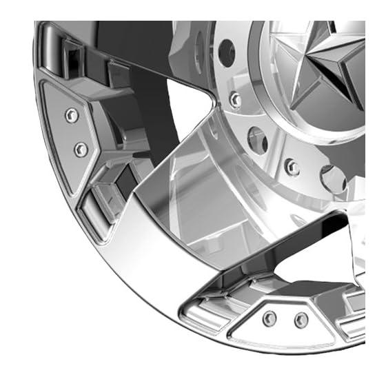 XD-Series Monster XD778 Chrome Wheel (20×9″/5×5.5″)