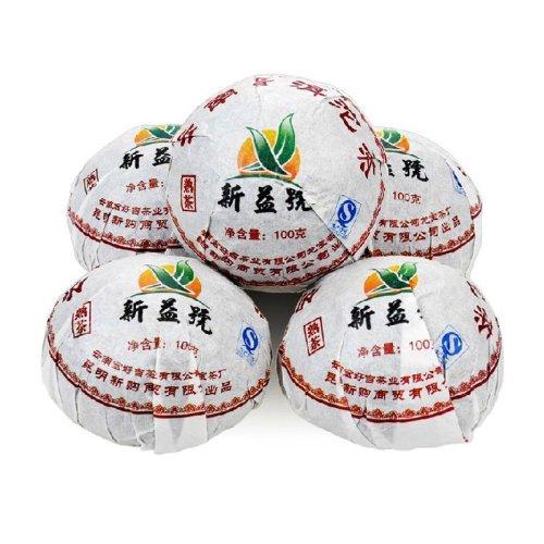 (Xin Yi Hao Menghai Tuo Cha Pu Er Tea Ripe Pu'erh Tea 200g)