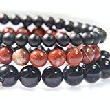 JONES KATAMI JK STACKS Matte Black Onyx, Red River Jasper and Obsidian