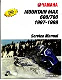 LIT-12618-01-83 1997-1999 Yamaha Mountain Max V Max And Venture Snowmobile Service Manual
