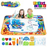 Pipigo Water Doodle Mat Drawing Mat Toddler Girls Toys Birthday Gifts for Age 3 4 Year Old Girls...