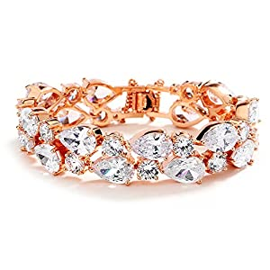 Mariell Gorgeous Rose Gold Petite Length 6 1/2