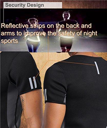1a6089fb3f83b NINGMI Mens Waist Trainer Vest Hot Sweat Shirt Neoprene Sauna Suit Workout  Body Shaper Cami for