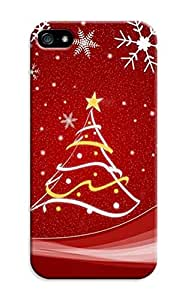 longenology Custom Lightweight Waterproof New Style Merry Christmas fashionable TPU Phone Protector Cover for iphone 5/5S