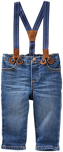 OshKosh B'Gosh Baby Boys' Bottoms 11772010, Denim, 6 Months by OshKosh B'Gosh