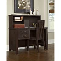 NE Kids Highlands Desk with Hutch in Espresso