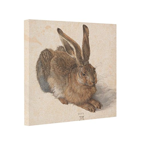 - Dobend Photo Prints On Canvas Hare | Albrecht D眉rer Canvas Paintings