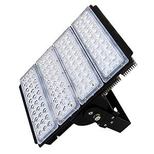 Zesol LED Flood Lamp IP65 Waterproof AC85-265V 150W Landscape Lighting LED Light (Warm White)